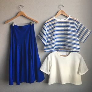 Rocketxlaunch blue Skirt top bundle size small
